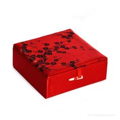 Schmuckdose Brokat Schmuckschatulle Schmuckkasten Geschenkdose 12cm jewelry box