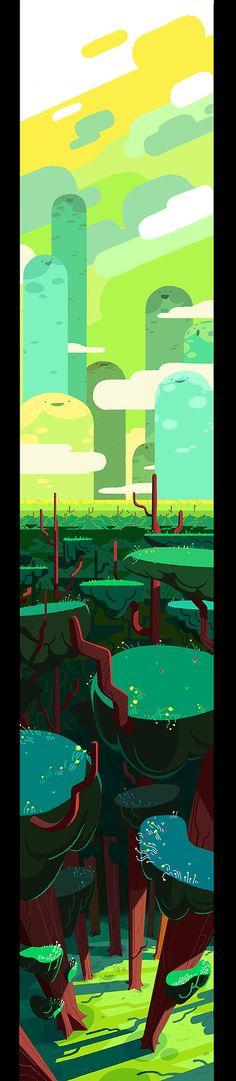 Steven Crewniverse Behind-The-Scenes Universe: From BG designer & Painter Eusong Lee: Hello. I...