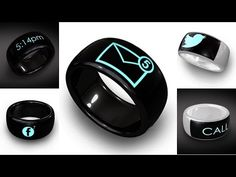 Top 5 Best Smart Ring which are Very Useful Tiny Wearable Futuristic Gadgets - YouTube