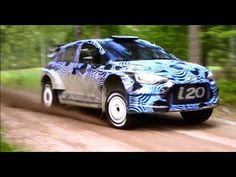 Rally Finland 2015 Hyundai i20 WRC Test - YouTube