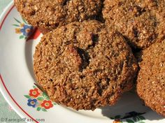 100% Whole Grain Cranberry Orange Bran Muffins - flavorful and healthy, sweetened with honey and molasses, packed with both wheat bran and oat bran.