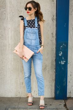 How to wear overalls—and look like a grown-up.