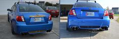 before and after plastic dipping WRX Wrx, Beast, Plastic, Vehicles, Blue, Vehicle, Tools