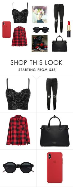 """""""Cha"""" by mizzmaeepowerz on Polyvore featuring AMIRI and Burberry"""