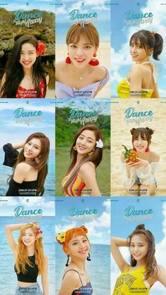 twice dance the night away Nayeon, Kpop Girl Groups, Kpop Girls, K Pop, Girls Generation, Shy Shy Shy, Lee Hi, Twice Photoshoot, Twice Group