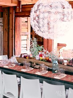 Pop-up dinner party by Sufficiently Amused, design by Walter Mazzanti of Abiato Inc. | Photography by David Christensen | Atlanta Homes & Lifestyles |