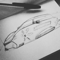 A quick sketch before bed time  #sketch #design #automotive #pen #car #cardesign #automotive_design #id #sketchbook #sketchbookpro #ideas #studioMenta #DESIGN #rendering #drawing #draw #supercar #suv #industrialdesign #classiccar #drawtodrive #tutorial #copic #inspiration #designinspiration #car #cardesign by saz722