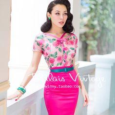 Gender: Women Decoration: Bow Clothing Length: Regular Sleeve Style: Regular Pattern Type: Floral Style: Fashion Fabric Type: Poplin Material: Rayon,Spandex,Acrylic Collar: V-Neck Sleeve Length: Short