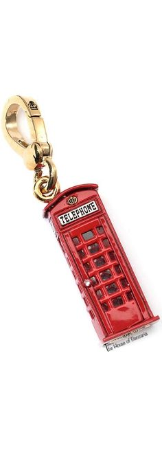 ~London's Calling: Juicy Couture Iconic  London Phone Box Charm | The House of Beccaria Miss And Ms, Britain's Got Talent, Red Balloon, Save The Queen, London Calling, Union Jack, Shades Of Red, London England, Black N Yellow