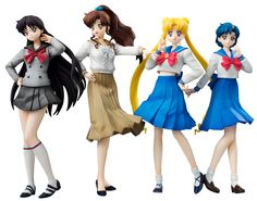 """sailor moon"" ""sailor moon figures"" ""sailor moon toys"" ""sailor moon merchandise"" mars mercury jupiter makoto ami rei usagi ""world uniform operation"" megahouse anime figure japan shop"