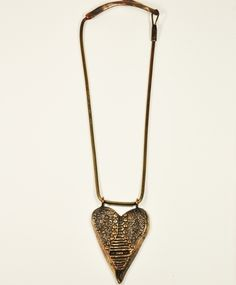 """All For the Mountain  """"her"""" heart necklace"""