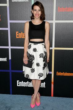 Get Emma Roberts' flirty nighttime look