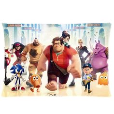 Cool Wreck-It Ralph Pillowcase Pillow Case Cover 16x24 inch (twin sides) * Hurry! Check out this great product : DIY : Do It Yourself Today