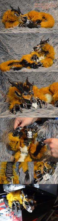 Honey Dragon Doll by Isvoc.deviantart.com on @deviantART