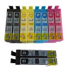 10 Cartucce per Stampante Epson XP102 XP202 XP205 XP30 XP302 XP305 XP402 XP405Cellulari e accessori -> Accessori -> Caricabatterie -> Caricabatterie da tavolo