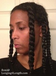How to: Detangle Your Natural Hair Easily #naturalhair