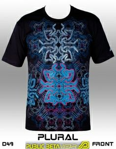 2ac4806dad2a45 Blacklight Reactive Clothing  European Underground Brand - Public Beta Wear