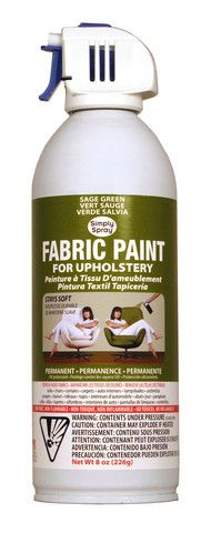 Sage Green Upholstery Fabric Paint