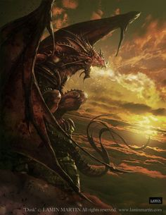 Drogon by Lamin Martin