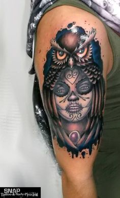 Best Owl Tattoos Images, Best Owl Tattoos in the World, Best Owl ...