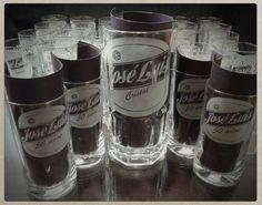 Souvenirs para hombres vasos grabados