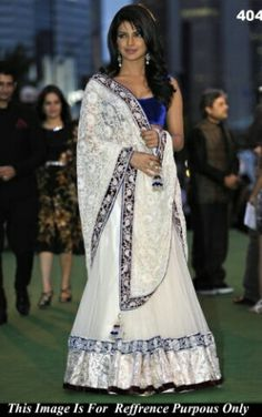 Bollywood celebrities have given a new dimension to the Indian Lehenga giving a whole new range of variety to shoppers. Lehenga worn by Bollywood celebrities have became the latest trend setters for s. Bollywood Sarees Online, Bollywood Lehenga, Lehenga Choli Online, Bollywood Fashion, Bollywood Celebrities, Bollywood Style, Bollywood Actress, Indian Lehenga, Blue Lehenga