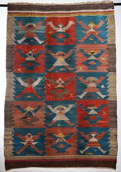 Eleonora Plutyńska, Little People, kilim, made by the Ład Artists' Cooperative, 1926 Collections of the Central Textiles Museum in Łódź, Photo: Michał Korta - photo 2