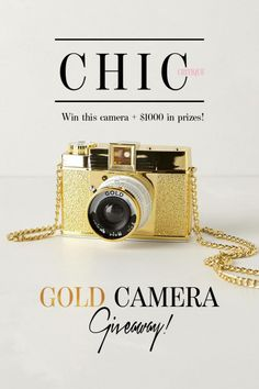 Chic Critique Forum | Red Carpet Week | Win This GOLD CAMERA! | $1000 in Prizes!!! #chiccritiqueforum #clickfordetails