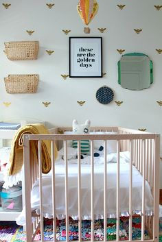 Sometimes, it's hip to be square! 10 Hip Kid's Rooms I Wish I Lived In | Babble #kidsrooms