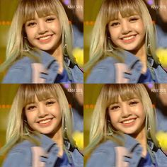I've never seen a smile so perfect . [160911] BLACKPINK @ SBS Inkigayo Source: @lalisa.blackpink  Image source: LaliceDaily (Twitter)