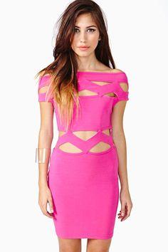 Thierry Mugler Fragment Dress