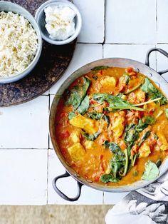 Chicken Tikka Masala, Poulet Tikka Masala, Chicken Tika, Korma, Scampi, Tika Massala, Healthy Diners, Clean Eating Recipes, Healthy Recipes