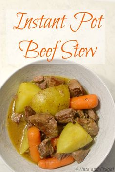 Instant Pot beef stew is one of our favorite fall meals. We've only had our Instant Pot for a year and a half, but we've defaulted to Instant Pot beef stew more times than I want to admit. I've tried a few simple instant pot beef stew recipes, but this one was created out our...Read More »