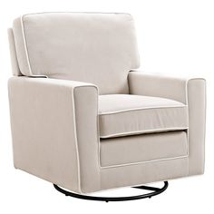 Baby Relax Nyla Swivel Glider - Make sure cuddle time is comfort time with the Baby Relax Nyla Swivel Glider . This modern armchair swivels, rocks, and glides, so it's...