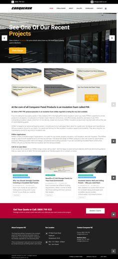 Custom Web Design, Custom Website Design, Website Design Company, Insulated Panels, Roof Panels, Portfolio Website, Be Yourself Quotes, Digital Marketing, Web Design Company