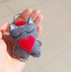 back to school  soft keychain backpack plushie charm by Mielamiela, $4.90
