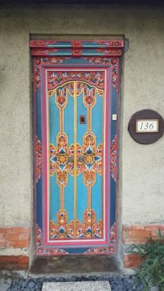 unusual colourful doors - Google Search