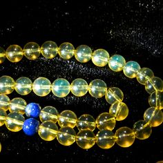 AAA Calibrated Mexican Blue Green Amber Spheres от SamoraMinerals