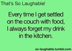 I hate that! Aha