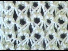 Cómo Tejer Punto Cruzado-Indian Cross Stitch 2 Agujas (228) - YouTube