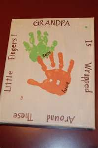 """""""wrapped around these little fingers"""" handprint plate"""