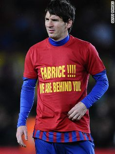 Fabrice stay strong!