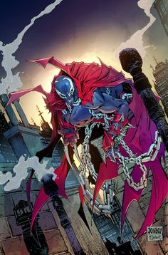 Spawn Resurrection #1 by Jonboy Meyers and Todd McFarlane *