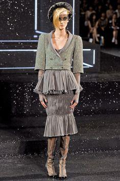 Chanel Fall 2011 Couture Fashion Show - Denisa Dvorakova