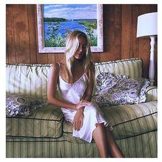 SILK LAUNDRY 90s silk slip dress