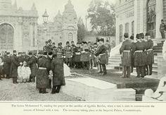 EID AL ADHA (SACRIFICE FEAST) IN OTTOMAN PALACE (Sultan Mehmed V Reading Sacrifice Prayer)  OSMANLI SARAYINDA KURBAN BAYRAMI (Sultan Mehmed Reşad Kurban Duası Okurken)