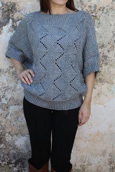 G3-197/W Crochet Top, Pullover, Sweaters, Tops, Women, Fashion, Moda, Women's, Sweater