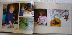 Use Photo Books to document kids art (grandparent gift idea)