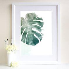 Leaf Art Print cut out paper over printed silk?