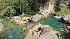 Algar waterval in Callosa d'en Sarria, Alicante